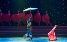 Tómele cuidado-nacionalidad la danza popular aduana-china Foto de archivo libre de regalías