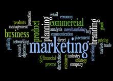 Tópicos do mercado Imagem de Stock