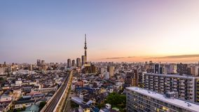 Tóquio, arquitetura da cidade de Japão filme
