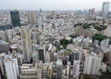 Tóquio cosmopolita fotografia de stock royalty free