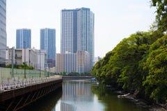 Tóquio, Japão - 22 de julho de 2017 imagens de stock royalty free