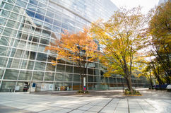 Tóquio, Japão - 26 de novembro de 2013: Exterior do fórum do International do Tóquio Imagens de Stock Royalty Free