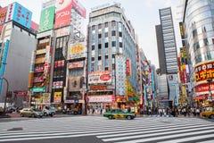 TÓQUIO JAPÃO DE SHINJUKU 11 DE SETEMBRO: marco importante do shinjuku Fotografia de Stock