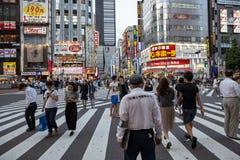 TÓQUIO JAPÃO DE SHINJUKU 11 DE SETEMBRO: marco importante do shinjuku Imagem de Stock Royalty Free