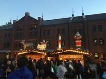 Tóquio Japão do Natal de Yokohama Foto de Stock Royalty Free