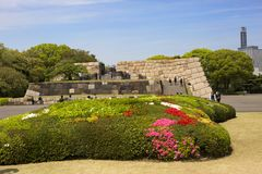 Tóquio, Japão, parque imperial do palácio Imagens de Stock