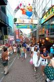 TÓQUIO, JAPÃO: Rua de Takeshita (Takeshita Dori) foto de stock