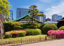 Tóquio O parque do palácio imperial imagens de stock royalty free
