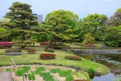 Tóquio O parque do palácio imperial imagens de stock