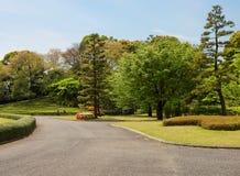 Tóquio O parque do palácio imperial fotografia de stock