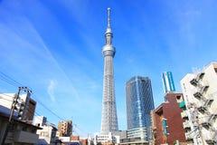 Tóquio Skytree, Tóquio, Japão Imagem de Stock