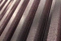 Tôle d'acier perforée durable de revêtement en métal image stock