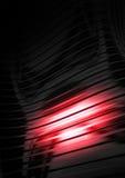 Tôle ondulée, lumière se reflétante Photographie stock libre de droits