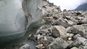Töa för isberg stock video