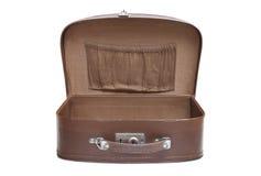 töm öppen resväskatappning Royaltyfri Foto