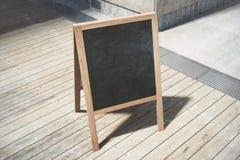 Töm den svarta menuboarden vektor illustrationer