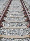 Töm drevjärnvägen Royaltyfria Bilder