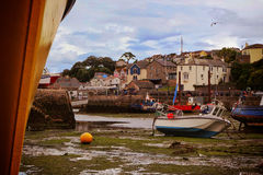 Töm hamnhamnen Brixham Devon England UK Arkivbilder