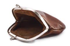 töm handväskan Fotografering för Bildbyråer