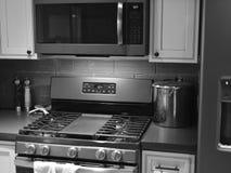 Töm kök som väntar för att göra matställen arkivbild