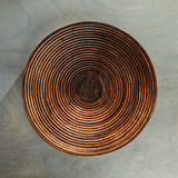 Töm plattan på Gray Wood arkivbild