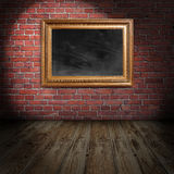 Töm ramen Arkivbilder