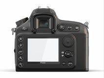 Töm skärmen på digital fotokamera Arkivbilder