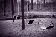 töm swings Arkivbilder