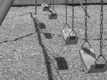 töm swings Arkivfoton