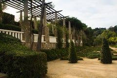 Töm trädgården Arkivbilder
