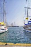Töm utrymme i fartygmarina Royaltyfri Fotografi