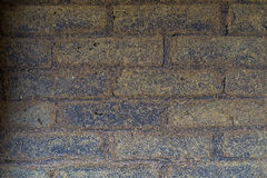 Tönerne Wand Stockfoto