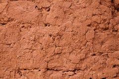 Tönerne Wand des Lehms Lizenzfreies Stockfoto