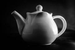 Töpfchen über Tee Stockfoto