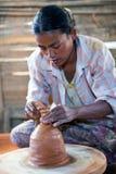 Töpfer, Myanmar Lizenzfreie Stockfotos