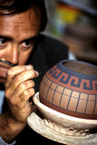 Töpfer Peru lizenzfreie stockfotografie