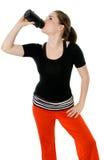 törstig övning Fotografering för Bildbyråer