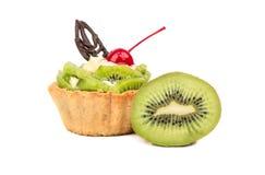 Törtchen mit Kiwi Lizenzfreies Stockbild