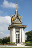 Tötung stellt Denkmal, Kambodscha auf stockfoto