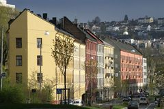 Tøyen Oslo Norway. Oslo, Norway in Toyen T�yen Stock Photos