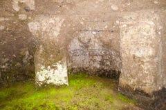 Túmulo antigo fotografia de stock