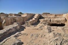 Túmulo antigo de Makronissos em Ayia Napa, Chipre fotos de stock