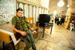 Túmulo da sinagoga dos patriarcas imagem de stock royalty free