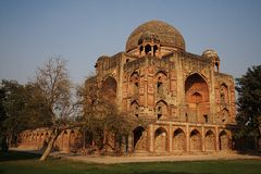 Túmulo de Abdur Rahim Khan-i-Khana, Nova Deli Fotografia de Stock Royalty Free