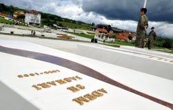 Túmulo de Adem Jashari s, Prekaz, Kosovo Fotos de Stock Royalty Free
