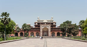 Túmulo de Akbar, Agra, India Fotografia de Stock Royalty Free