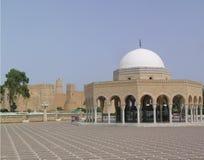 Túmulo de Bourguiba em Tunísia fotos de stock