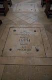 Túmulo de Giuseppe Tartini Foto de Stock Royalty Free