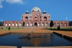Túmulo de Humayun's no centro da interpretação Fotos de Stock