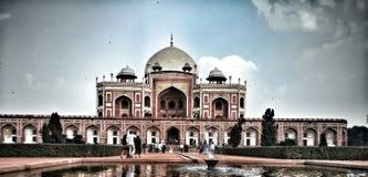 Túmulo de Humayun Foto de Stock Royalty Free